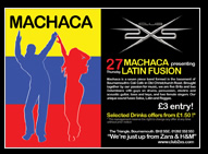 Machaca Promo Flyer